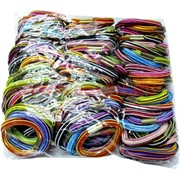 Резинка для волос разноцветная (CJ-177), цена за 200 шт