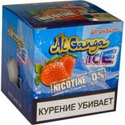 """Табак для кальяна оптом Al Ganga Ice 40 гр """"Strawberry"""" (без никотина)"""
