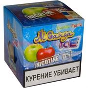 "Табак для кальяна оптом Al Ganga Ice 40 гр ""Double Apple"" (без никотина)"