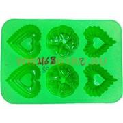 Форма для выпечки и заморозки (2168) силиконовая 22,5х32,5 цена за 80 шт, цвета в ассортименте