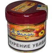 """Табак для кальяна оптом Al Ganga 50 гр """"Персик"""" (с акцизной маркой)"""