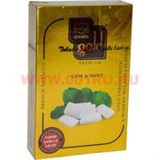 "Табак для кальяна Al-Waha Gold 50 гр ""Gum & Mint"" (аль ваха голд Иордания жвачка с мятой)"