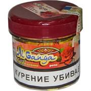 """Табак для кальяна оптом Al Ganga 50 гр """"Роза"""" (с акцизной маркой)"""