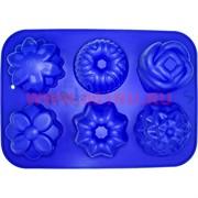 Форма для выпечки и заморозки (2169) силиконовая 22х31 цена за 80 шт, цвета в ассортименте