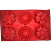 Форма для выпечки и заморозки (2108) силиконовая 17,5х28,5 цена за 120 шт, цвета в ассортименте