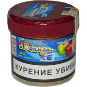 """Табак для кальяна оптом Al Ganga Ice 40 гр """"Два Яблока"""" (с акцизной маркой)"""