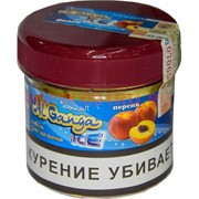 """Табак для кальяна оптом Al Ganga Ice 40 гр """"Персик"""" (с акцизной маркой)"""
