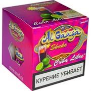 """Табак для кальяна оптом Al Ganga Shake 50 гр """"Cuba Libre"""" (с акцизной маркой)"""