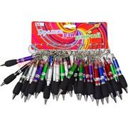 Брелок (KL-338) ручка цветной патрон, цена за 120 шт (1200 шт/кор)