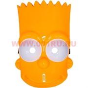 Маска Барт Симпсон из толстого пластика