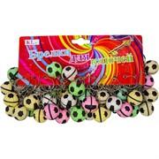 Брелок (KL-239) мяч твердый, цена за 120 шт (3600 шт/кор)