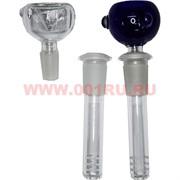 Трубка для бонга стеклянная d-15 мм 13 см длина
