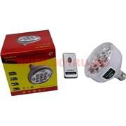 Лампа от сети и аккумуляторов на светодиодах с ДУ
