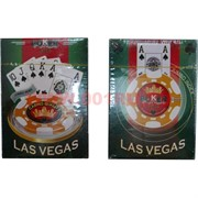 Карты для покера Las Vegas пластик 80%, цена за 2 упаковки