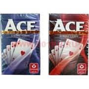 Карты для покера Cartamundi Ace, цена за 2 уп, 100% пластик