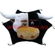 """Прикол шляпа """"Корова"""" с бубенчиками"""