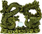 Дракон с фениксом 12x15 см