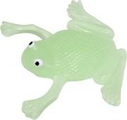 Лизун фосфорецирующий «лягушка» цвета в ассортименте