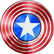 Спиннер металлический «Captain America» 58 мм