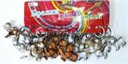 Брелок (KL-826) собачка 3 цвета, цена за 120 шт (2400 шт/кор)