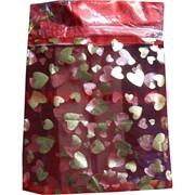 Пакет подарочный из мягкой органзы 15х20 см