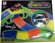 Игрушка Noctilucent Track Car (машинка с круговой трассой) на 150 деталей