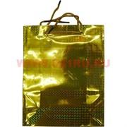Пакет подарочный голографический 20х25 см, 30 шт\уп