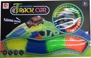 Игрушка Noctilucent Track Car (машинка с круговой трассой) на 128 деталей