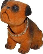 Собака «боксер» с качающейся головой 36 шт/уп