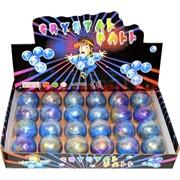 Лизуны «шарики» круглые перламутровые большие цена за 24 шт (288 шт/кор)