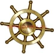 Спиннер «Латунный штурвал» в жестяной коробочке