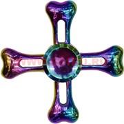 Спиннер «бензин» металлический в виде креста
