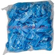 Браслет детский 100 шт 3 размер голубой, цена за уп из 100 шт