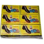 """Губка для обуви """"Лоск 5 Антисоль"""", цена за 12 шт"""
