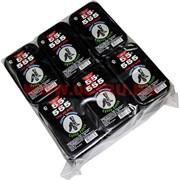 Губка для обуви 555 с черной пропиткой, цена за 12 шт