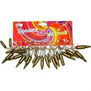 Брелок (KL-388) пуля пластиковая, цена за 120 шт (2400 шт/кор)