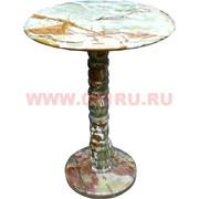 Столик из оникса 58 см (14х14 дюймов столешница)