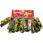 Брелок (KL-602) скейтборды цветные, цена за 120 шт (1200 шт/кор)