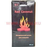 Уголь для кальяна Red Coconut 1 кг 96 кубиков