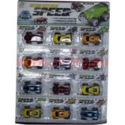 Машинки набор 12 шт Cross Country Speed