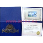 Прикол Подарочный сертификат в ассортименте
