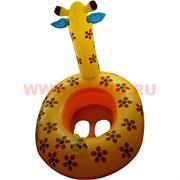 Надувной детский плотик «Жираф» 6 шт/уп