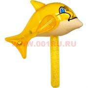 Надувная игрушка «Дельфин на палке» 42х37 см