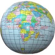 Надувная игрушка «Глобус» 30 см