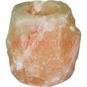 Подсвечник солевой (из цельного куска соли) Пакистан