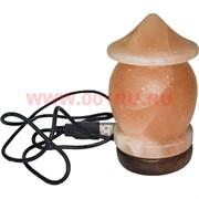 """Лампа солевая """"грибок"""" с зарядкой USB"""