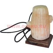 """Лампа солевая """"кактус"""" с зарядкой USB"""