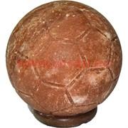 """Лампа солевая """"футбольный мяч"""" 15 см диаметр с зарядкой USB"""