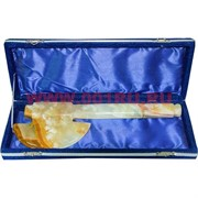 Топорик из оникса 28 см в бархатной коробочке