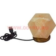 """Лампа USB солевая """"геометрическая фигура"""" 10 см высота"""